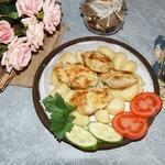Куриное мясо в яично-горчичном маринаде
