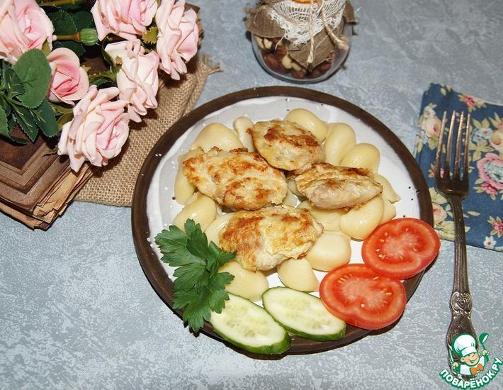 Рецепт: Куриное мясо в яично-горчичном маринаде