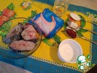 Сом с перловкой и томатно-сметанным соусом ингредиенты