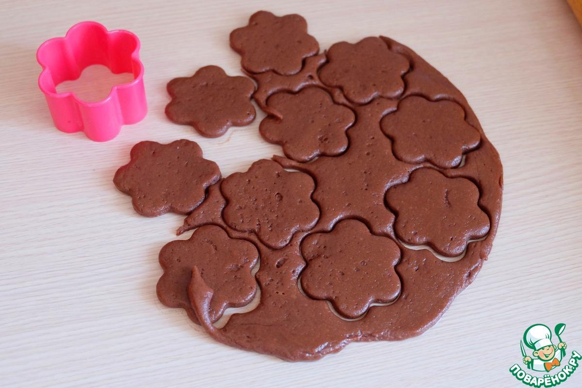 Пряники шоколадно-медовые