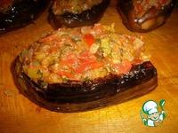 Баклажан с курицей под овощным соусом ингредиенты