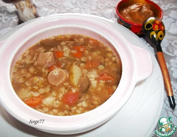 Рецепт: Суп Звездный