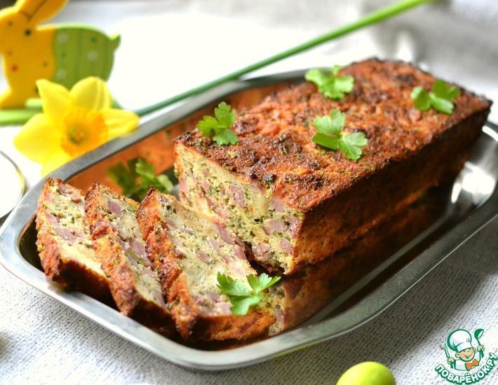 Рецепт: Пасхальный мясной хлеб