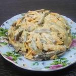 Салат Обжорка с печенью