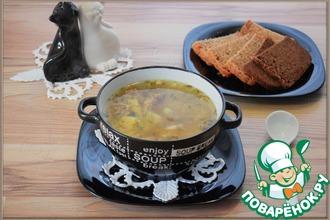 Рецепт: Картофельный суп Простой