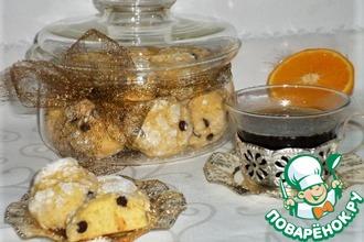 Рецепт: Итальянское апельсиновое печенье