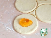 Пирожки из творожного теста с джемом ингредиенты