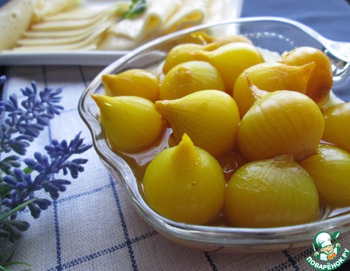 Рецепт: Луковички на индийский манер