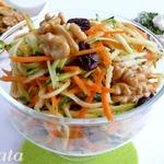 Салат из цуккини с морковью