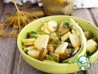 Картофельный салат с огурцами ингредиенты