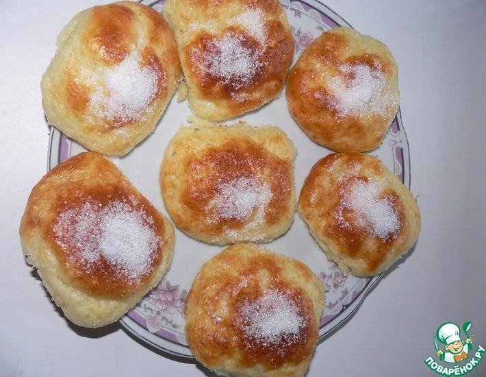 Рецепт: Творожные булочки за 15 минут