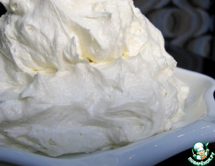 крем пломбир на сливках рецепт с фото