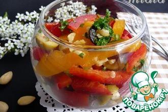 Рецепт: Салат из сладкого перца