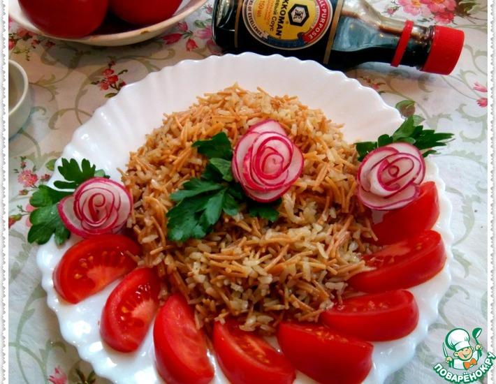 Рецепт: Ароматный жареный рис