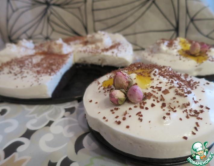 Рецепт: Постный торт Птичье молоко