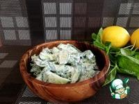 Огуречный салат с мятой ингредиенты