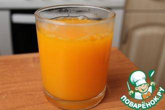 Рецепт: Домашний тыквенный сок