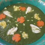 Суп-пюре из шпината Особый