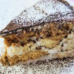 Торт из овсяного печенья с бананами