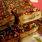 Быстрое ореховое пирожное