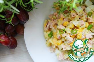 Рецепт: Немецкий картофельный салат
