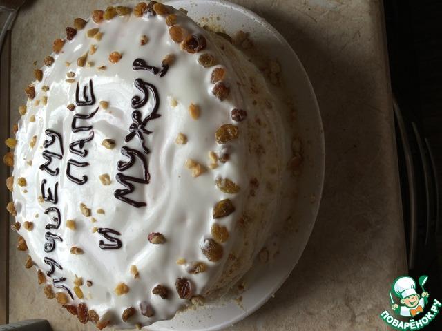 рецепт торта сметанник золотой колос
