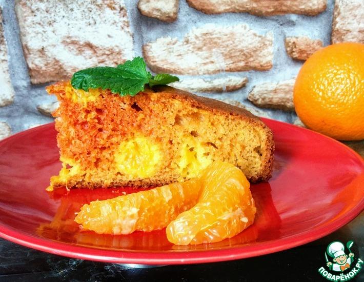 Рецепт: Средиземноморский йогуртовый пирог