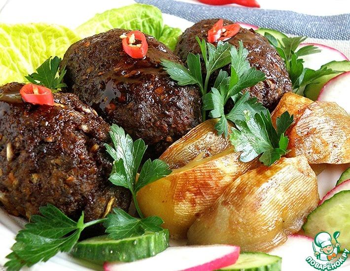 Рецепт: Котлеты на азиатский манер