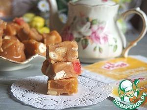 Рецепт: Ванильная помадка с орехами и цукатами