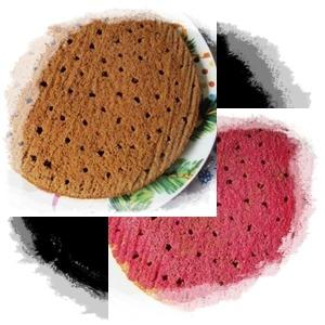 Вишнево-зефирный торт