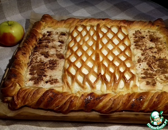 Рецепт: Дрожжевой пирог Моим друзьям!