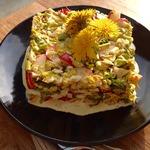 Салат из одуванчиков Писанли