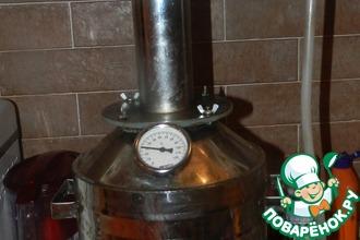 Рецепт: Сахарный самогон с запахом кофе