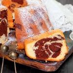 Кекс шоколадно-ванильный Идеал