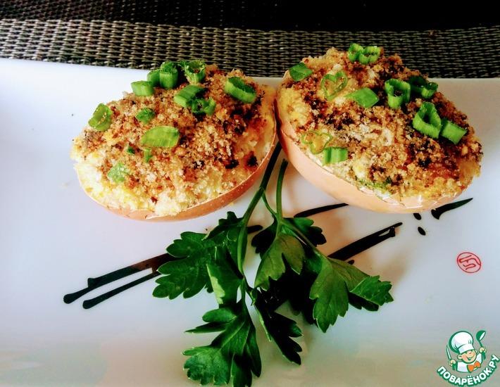 Рецепт: Яйца Балтимор