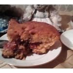 Масляный пирог с карамельными фруктами Компромисс