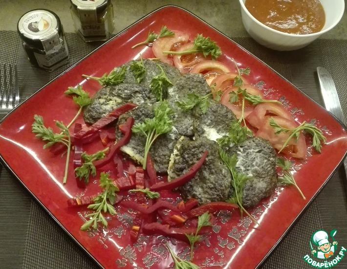 Рецепт: Котлеты из говяжьей печени