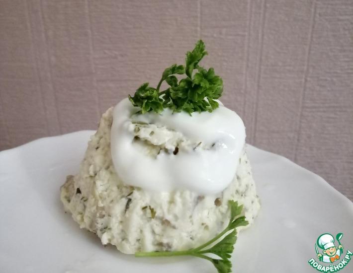 Рецепт: Паровые сырники с грибами