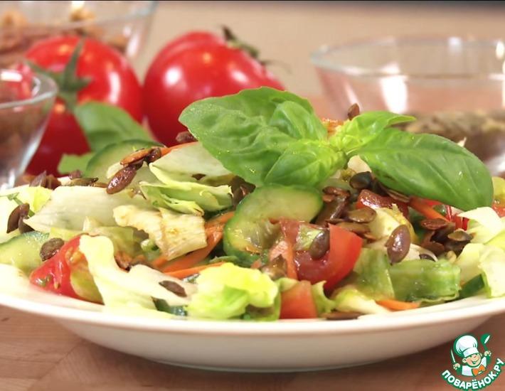Рецепт: Эффектная заправка для салатов