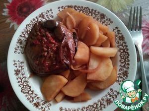 Картофель в пароварке впрок