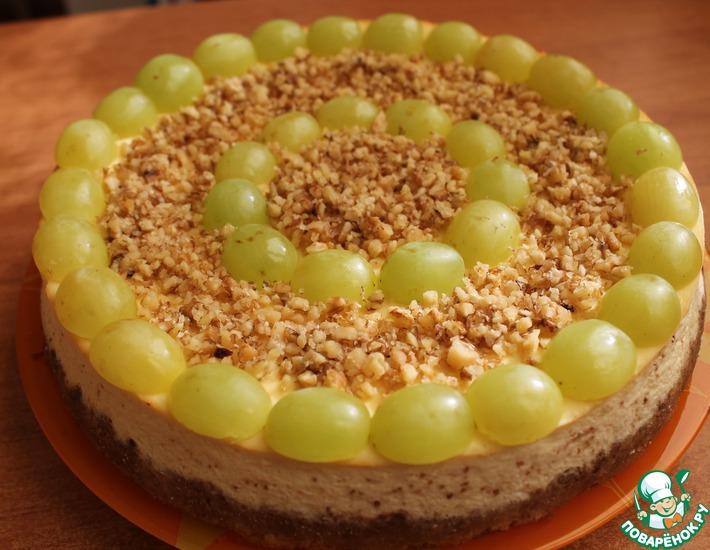 Рецепт: Творожно-миндальный пирог