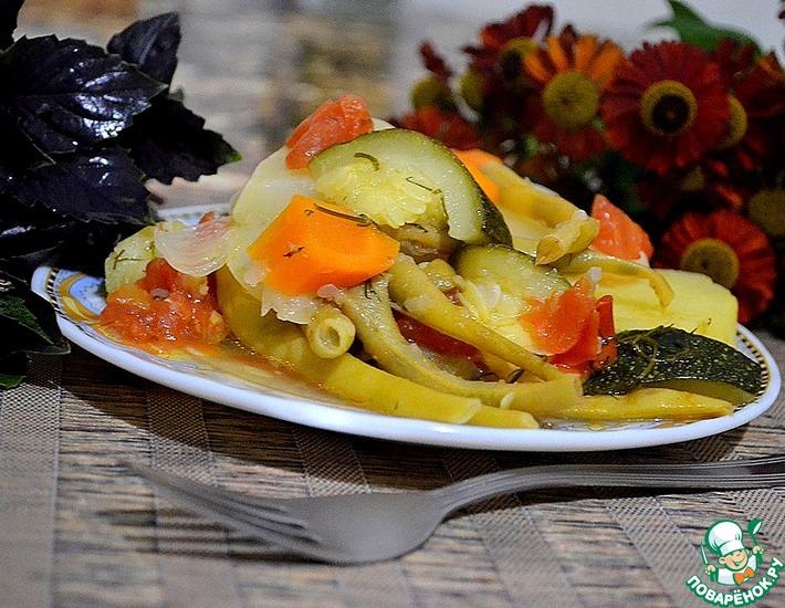 Рецепт: Овощное рагу Лето
