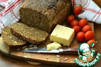 Рецепт: Темный хлеб с маком и семечками