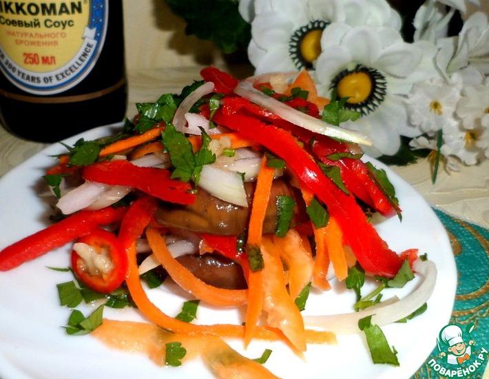 Рецепт: Закуска из овощей в маринаде