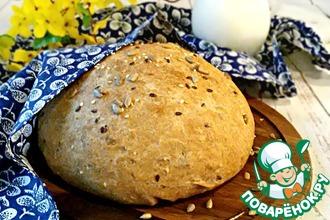 Рецепт: Пшенично-ржаной хлеб Зерновой