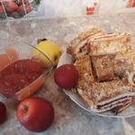 Яблочно-сливовое повидло в микроволновой печи