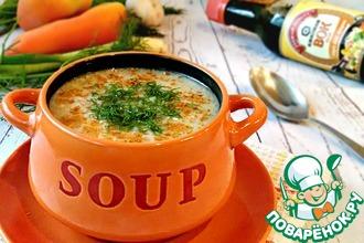 Рецепт: Суп из рыбных консервов Сардина