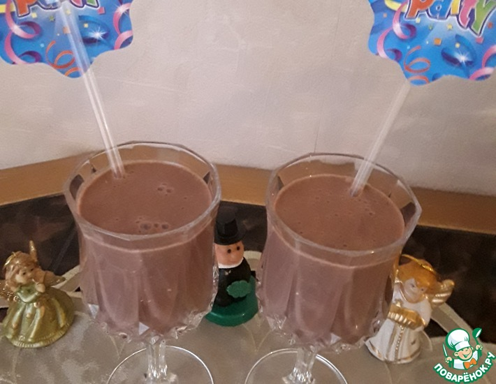 Рецепт: Шоколадный смузи