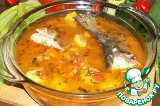Рецепт: Рыбная похлебка Пеппер суп