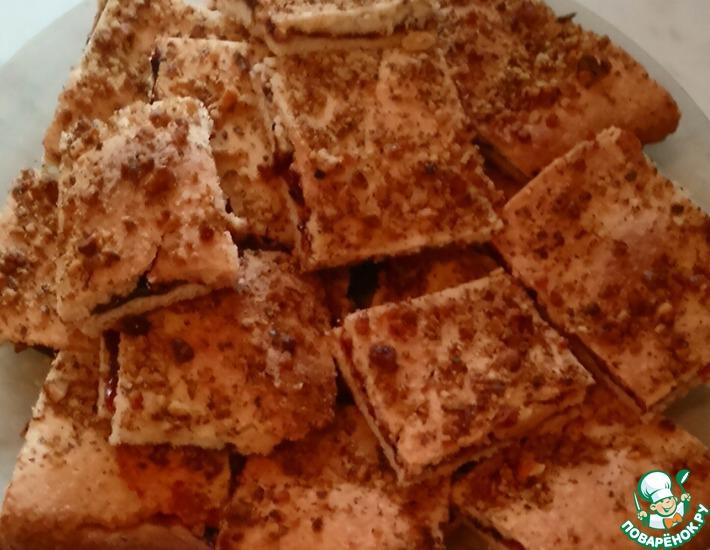 Рецепт: Печенье быстрое с вареньем